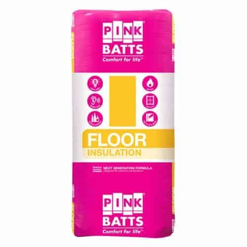 pink batts underfloor
